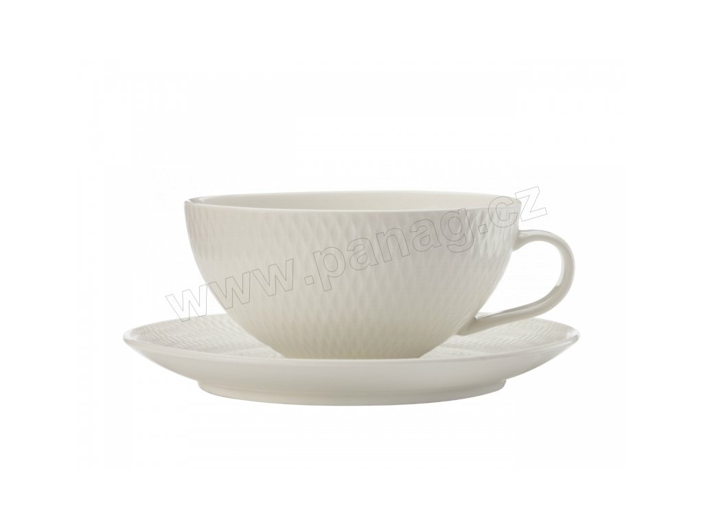 dv0067 čajový šálek a podšálek 250 ml Diamonds