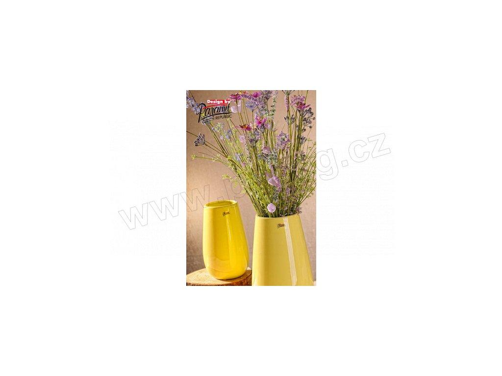 13010 30Y Porcelánová váza Erna 30 cm žlutá od Paramit jiný obrázek