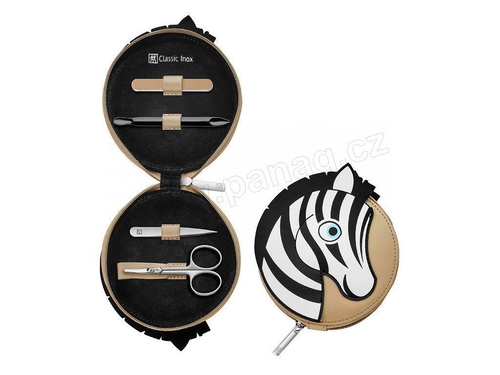 97643 001 Manikúra pro děti 4dilná CLASSIC INNOX zebra Zwilling J.A. Henckels