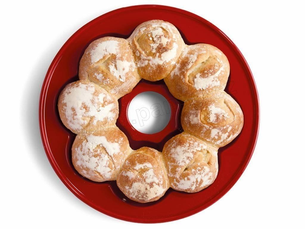 Kulatá forma na chleba Specialities 30,5x10,5 cm - granátová - Emile Henry - 345505