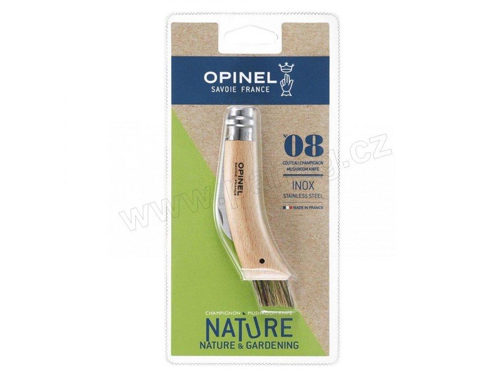 001250 Zavírací houbařský nůž VRI N°08 od Opinel blister