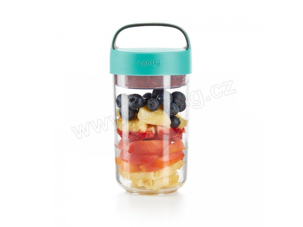 0301020Z07U150 Svačinový box Jar to GO 600 ml od Lékue