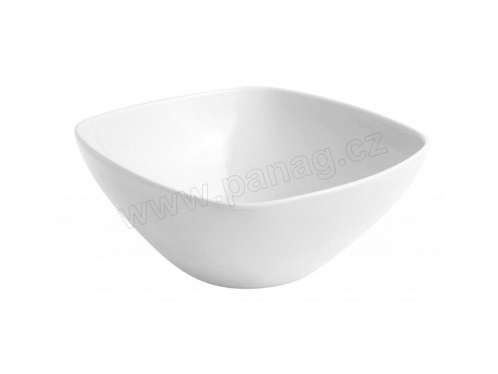 Porcelánová miska 26 cm bílá - by inspire