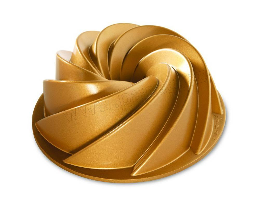 80677 Forma na bábovku Heritage 2400 ml zlatá