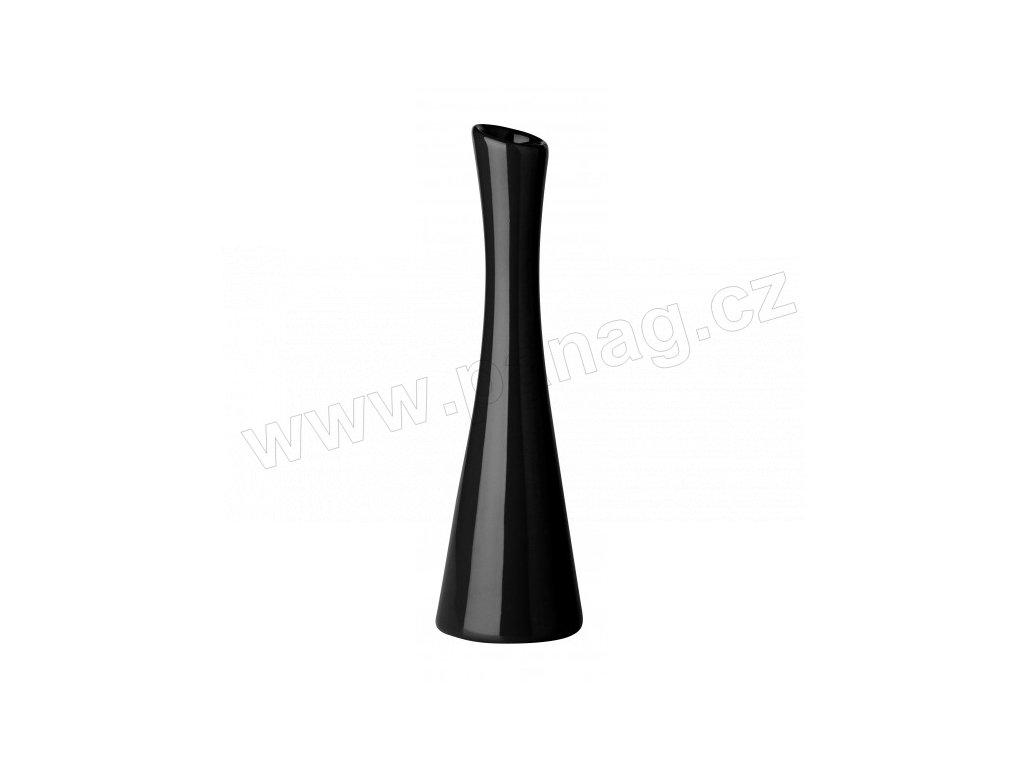 Váza X 7,5 x 25 cm černá - by inspire