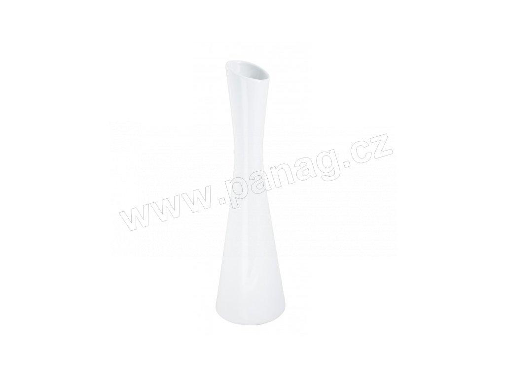 Váza X 8 x 30 cm bílá - by inspire