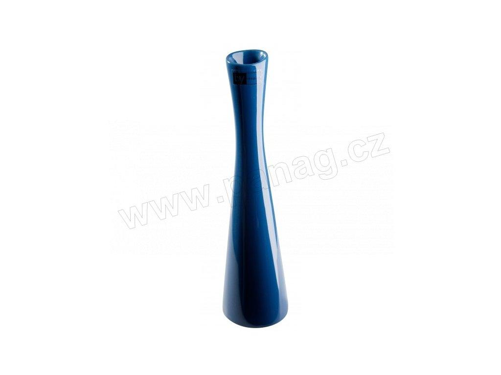 Váza X 8 x 30 cm modrá - by inspire