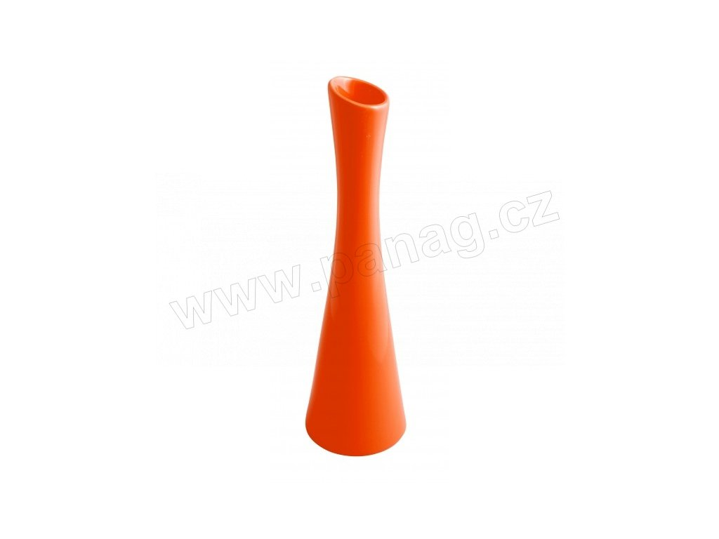 Váza X 10 x 35 cm oranžová - by inspire