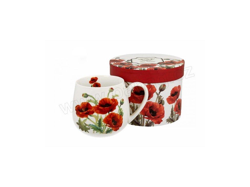 H190 CLASSIC POPPIES Hrnek na čaj baculka 430 ml od DUO