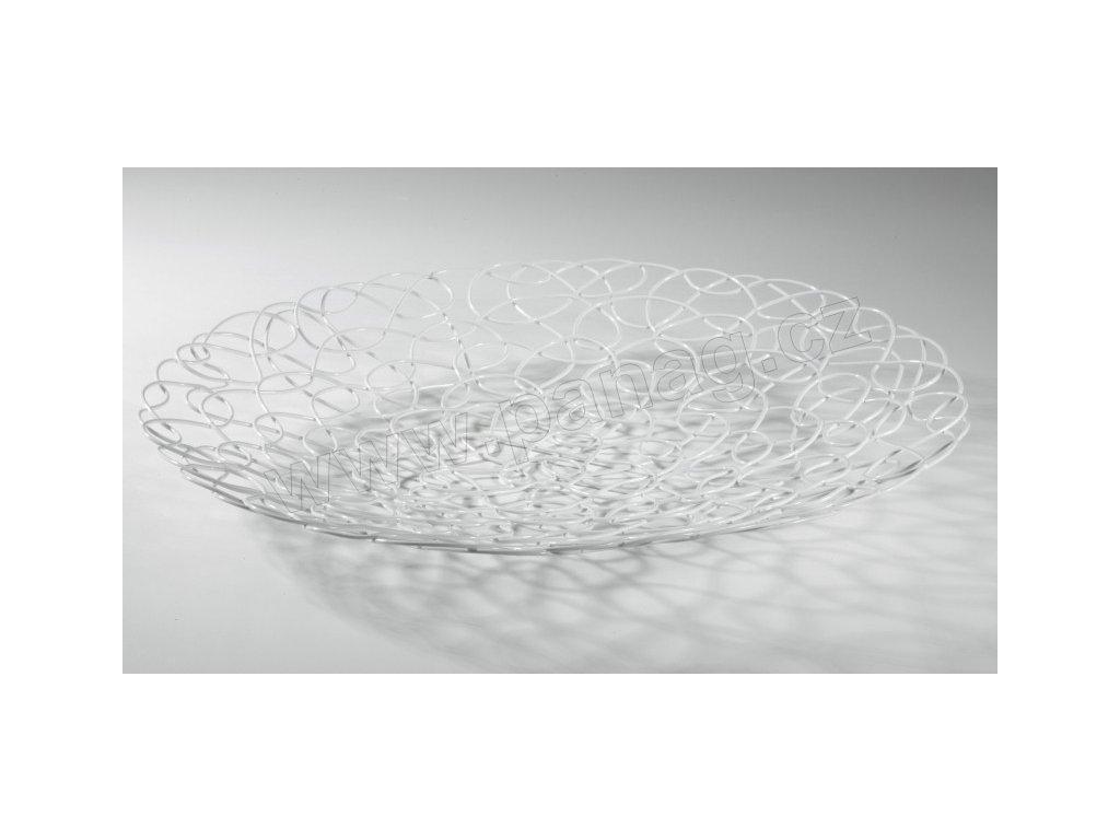 Tác na ovoce (33x33x4,5cm), bílá - by inspire