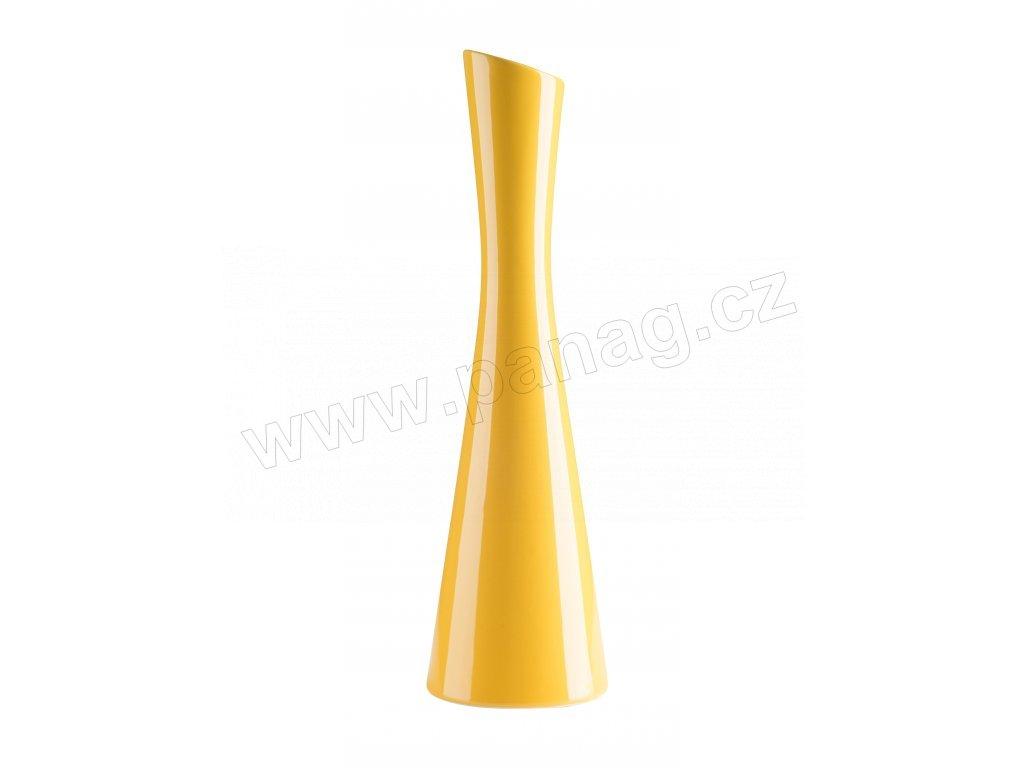 8805 Váza X žlutá od by inspire