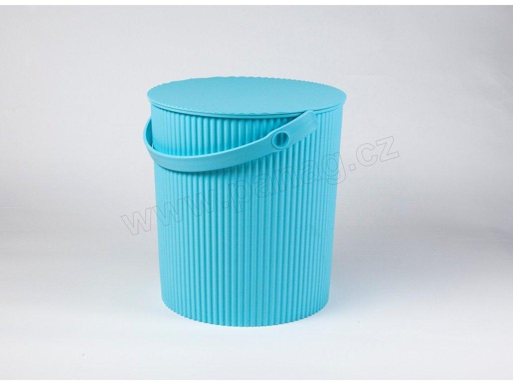 Úložný box/stupínek/sedátko 3 v 1 modrá - by inspire