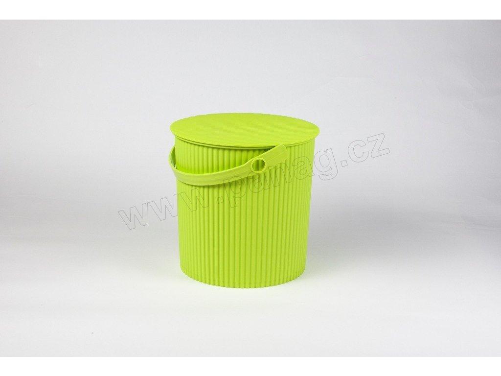 Úložný box/stupínek/sedátko 3 v 1 zelené menší - by inspire