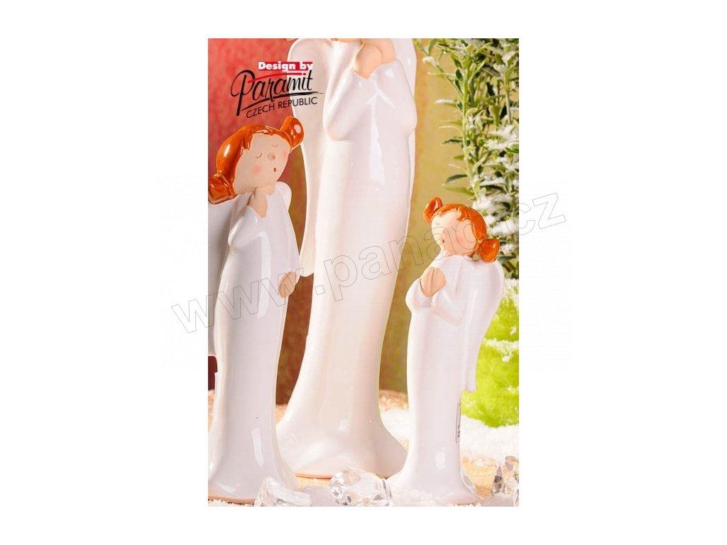 Anděl culíkatý Lola 21 cm  - Paramit - 4107-21
