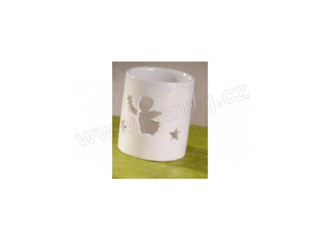 Lucernička bílá 11 cm  - Paramit - 5114