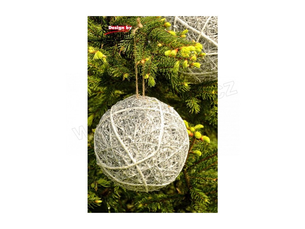 Třpytková koule 15 cm  - Paramit - 5137-15