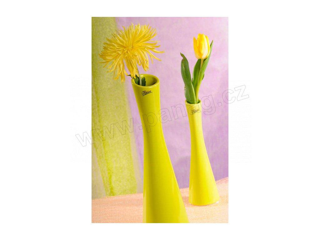60 35G Link váza zelená 35 cm