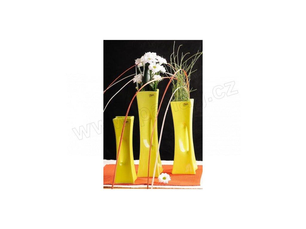 X-Vase váza zelená 25 cm