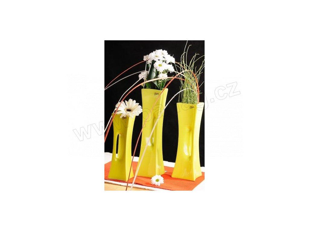 X-Vase váza zelená 30 cm