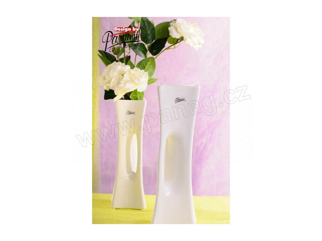X-Vase váza bílá 30 cm  - Paramit - 58-30W