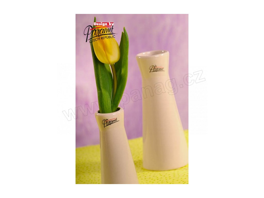 Kapucin váza porcelán béžová 12,5 cm