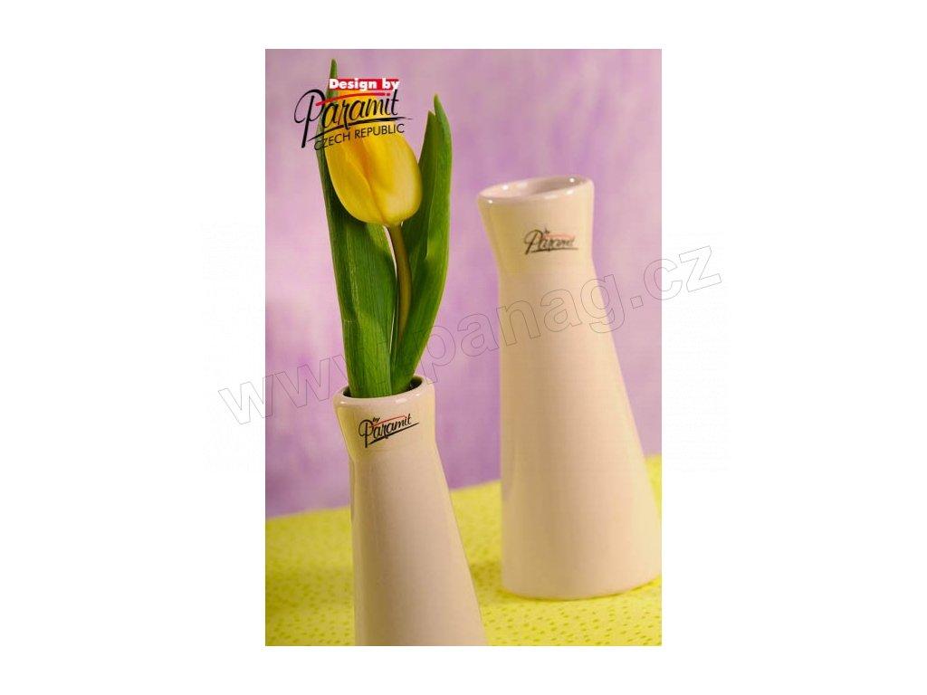 Kapucin váza porcelán béžová 12,5 cm  - Paramit - 520-13C