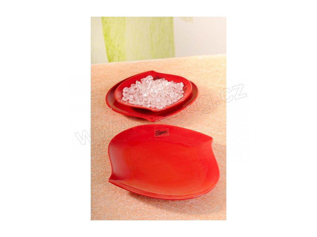 109 20R S line talíř červená 20 cm