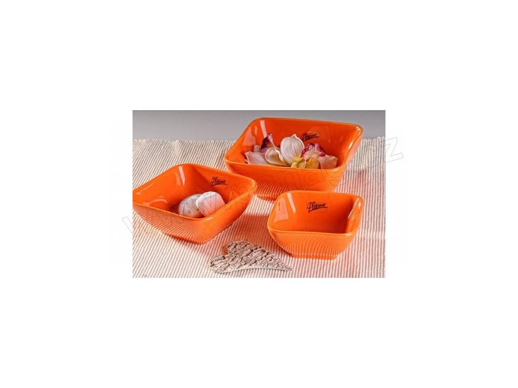 Darling miska oranžová 10 cm 10 cm  - Paramit - 10-10O