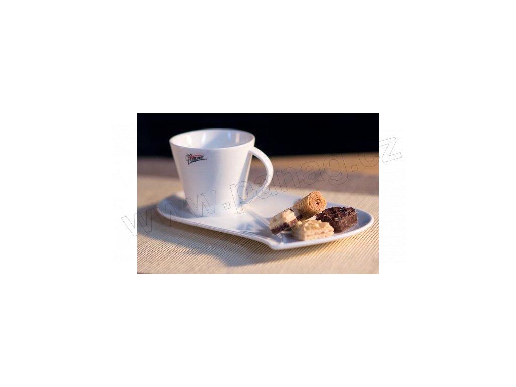 105 10 Šálek s podšálkem 150 ml na snídani pohled z boku od Paramit