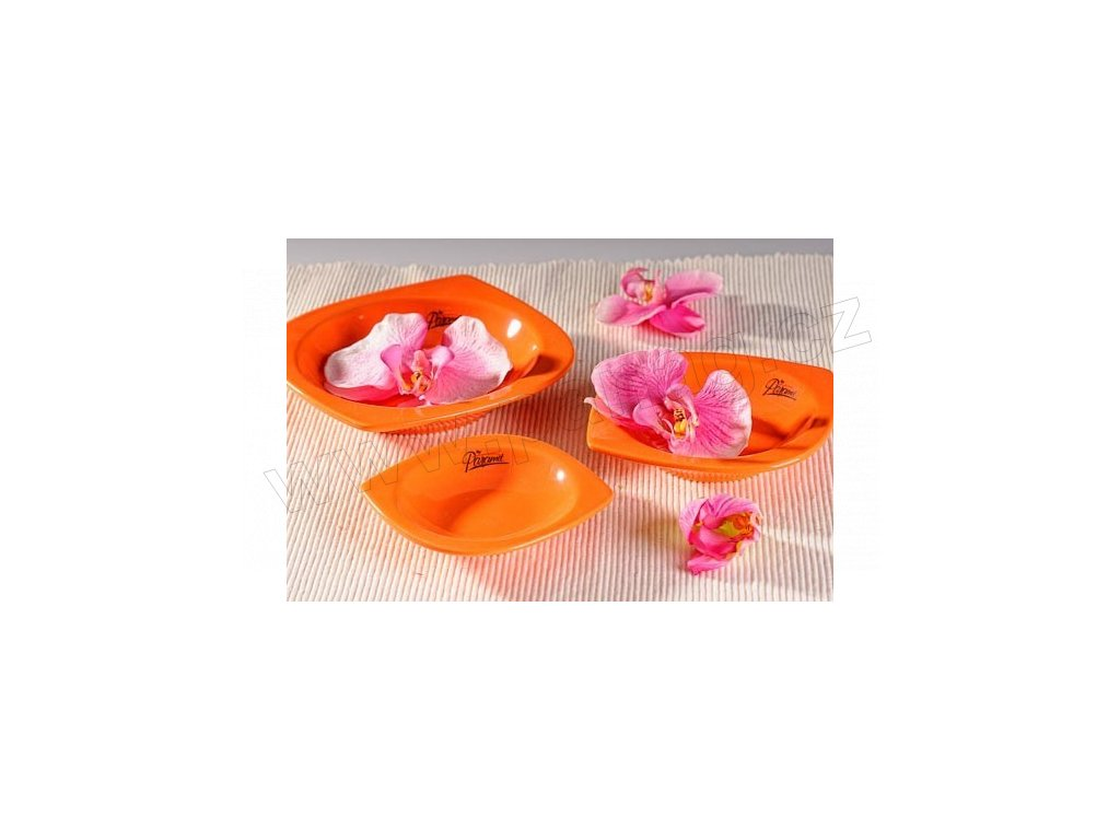 Cog miska plytká oranžová 10 cm  - Paramit - 15-10O
