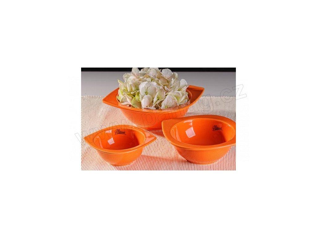 Cog miska hluboká oranžová 15 cm  - Paramit - 16-15O