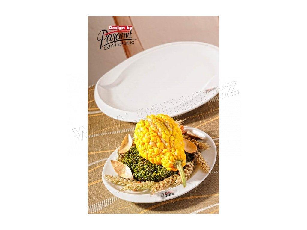 Esíčko dezertní talíř bílý 20 cm  - Paramit - 6406-20W