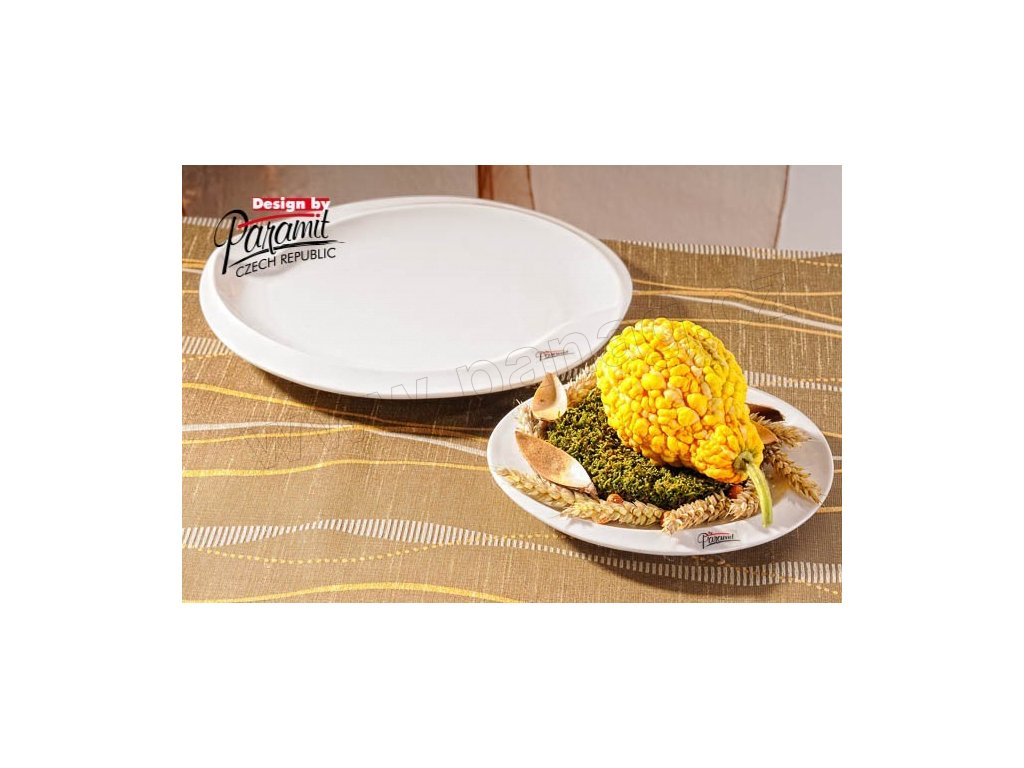 Esíčko jídelní talíř bílý 27 cm  - Paramit - 6406-27W