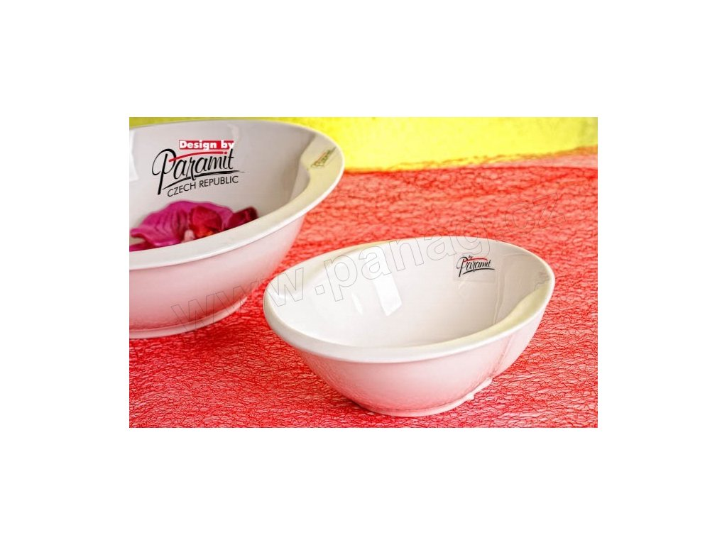 Esíčko miska bílá 15 cm  - Paramit - 6407-15W