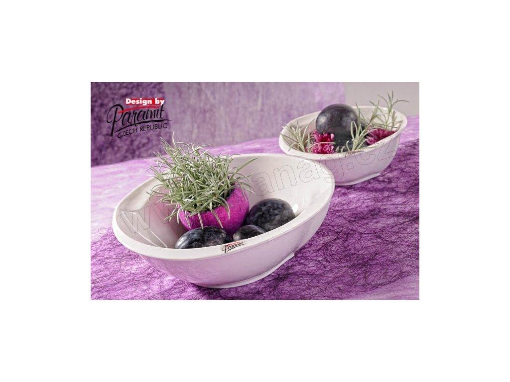 Esíčko polévkový talíř bílý 23 cm  - Paramit - 6407-23W