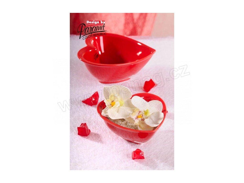 Srdíčko miska červená 10 cm  - Paramit - 75-10R