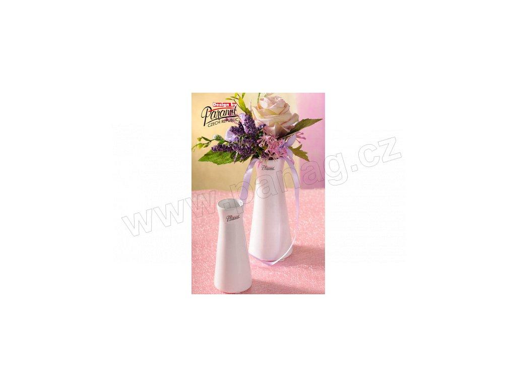 520 13W malá bílá váza Kapucin od Paramit