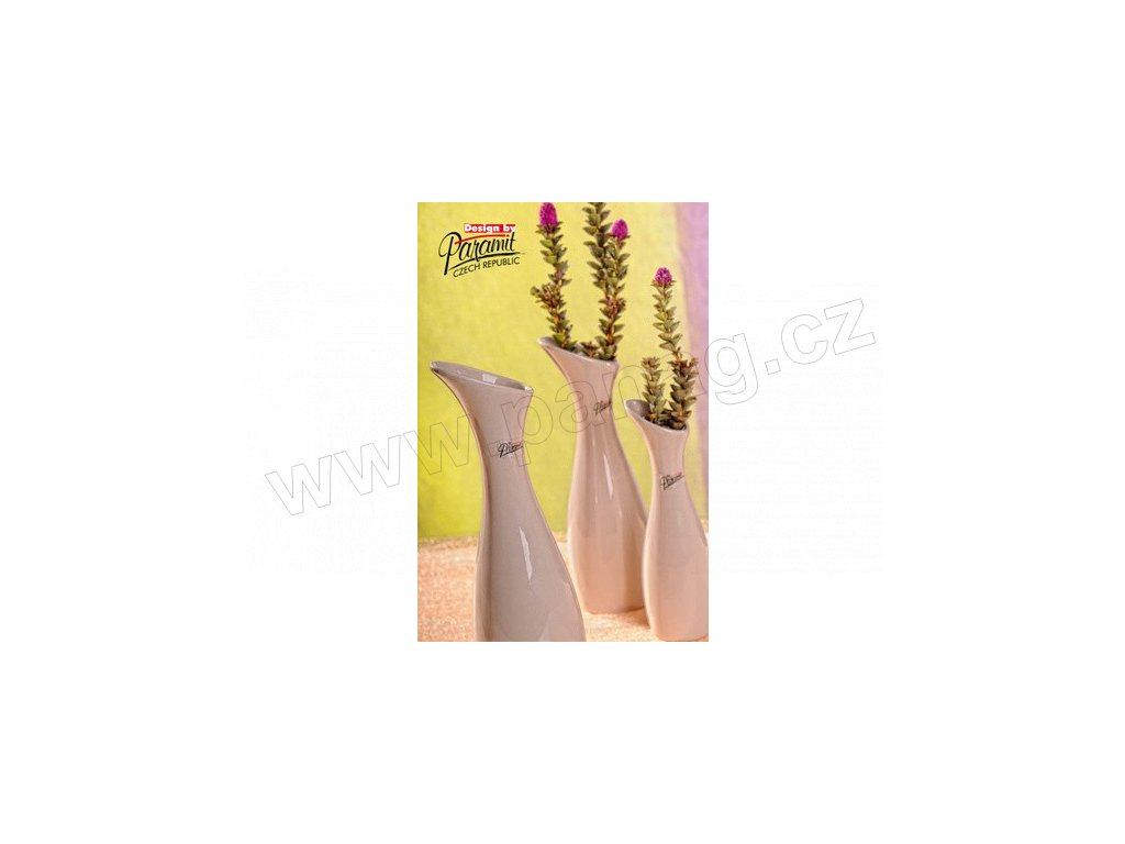 Váza béžová 30 cm Soffi  - Paramit - 11029-30C