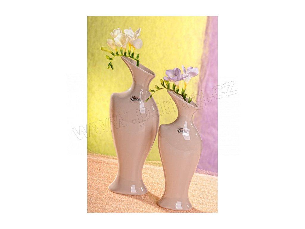 Váza béžová 25 cm Žena