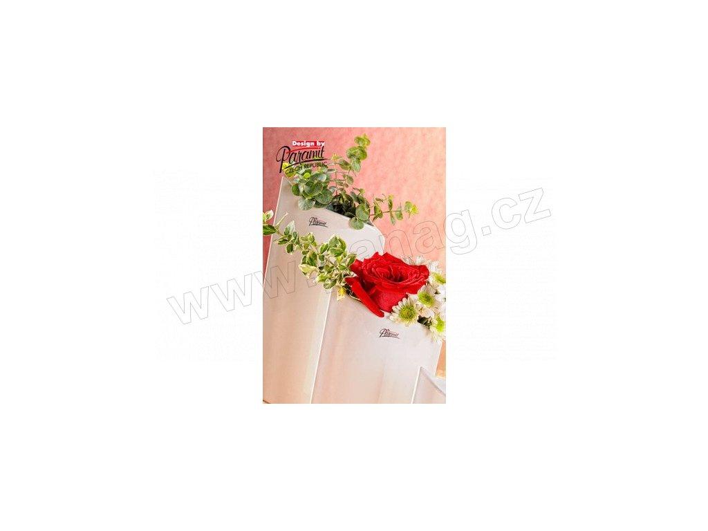 Váza bílá 20 cm Leila  - Paramit - 11078-20W