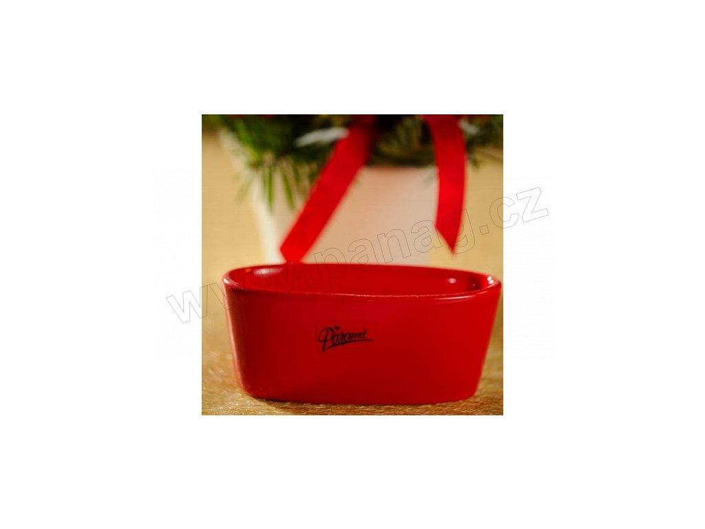 11082 12 R Emily žardinka 12 cm červená od Paramit krásna