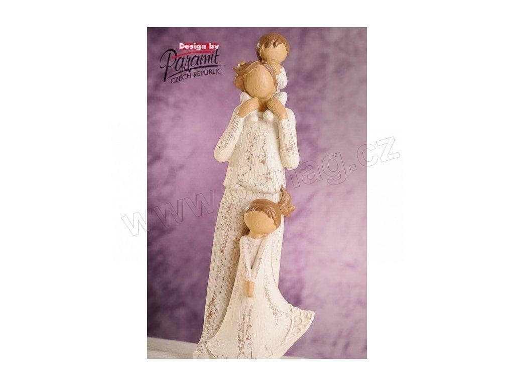 Rodina B - Táta s dětmi 28 cm  - Paramit - 4210