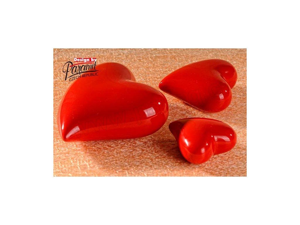 Srdíčko červené 8 cm  - Paramit - 11055-8R