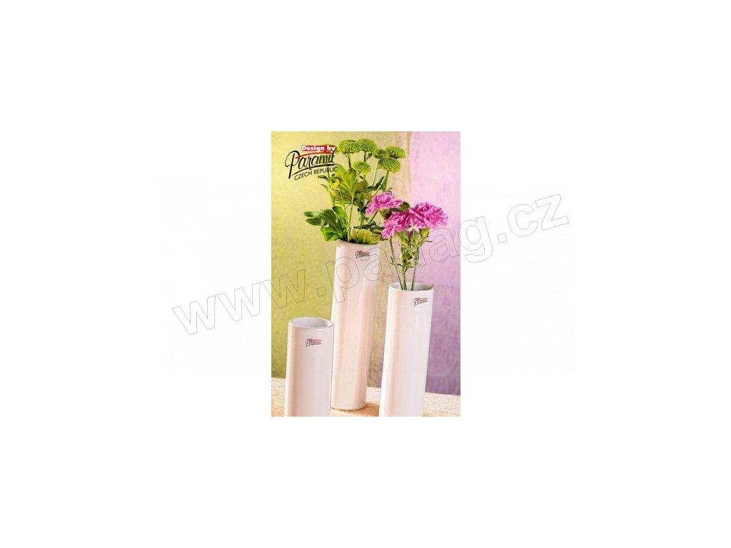 Dolly váza bílá 14 cm  - Paramit - 12010-14W