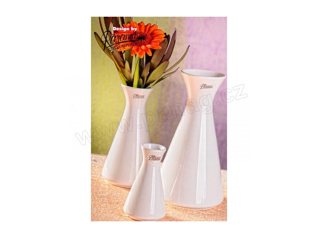 Mia váza bílá 10 cm  - Paramit - 11099-10W