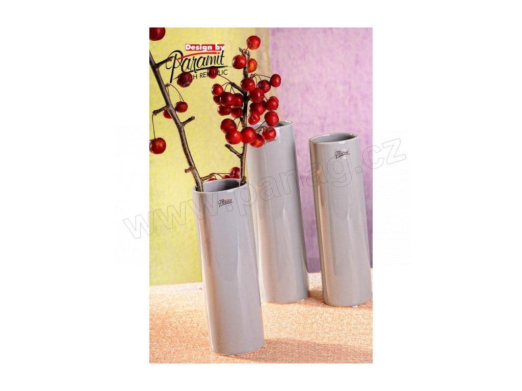 Polly váza šedá 23 cm  - Paramit - 12011-23GY