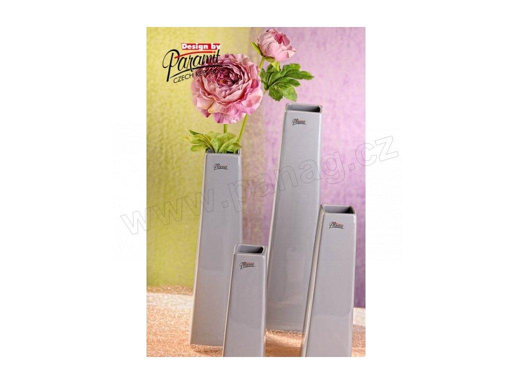 Wendy váza šedá 30 cm  - Paramit - 11097-30GY