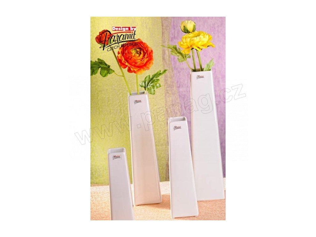 Wendy váza bílá 35 cm  - Paramit - 11097-35W