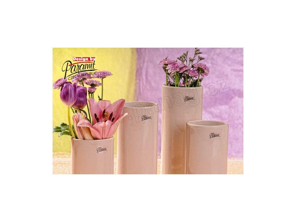 Dita váza béžová 18 cm  - Paramit - 11083-18C