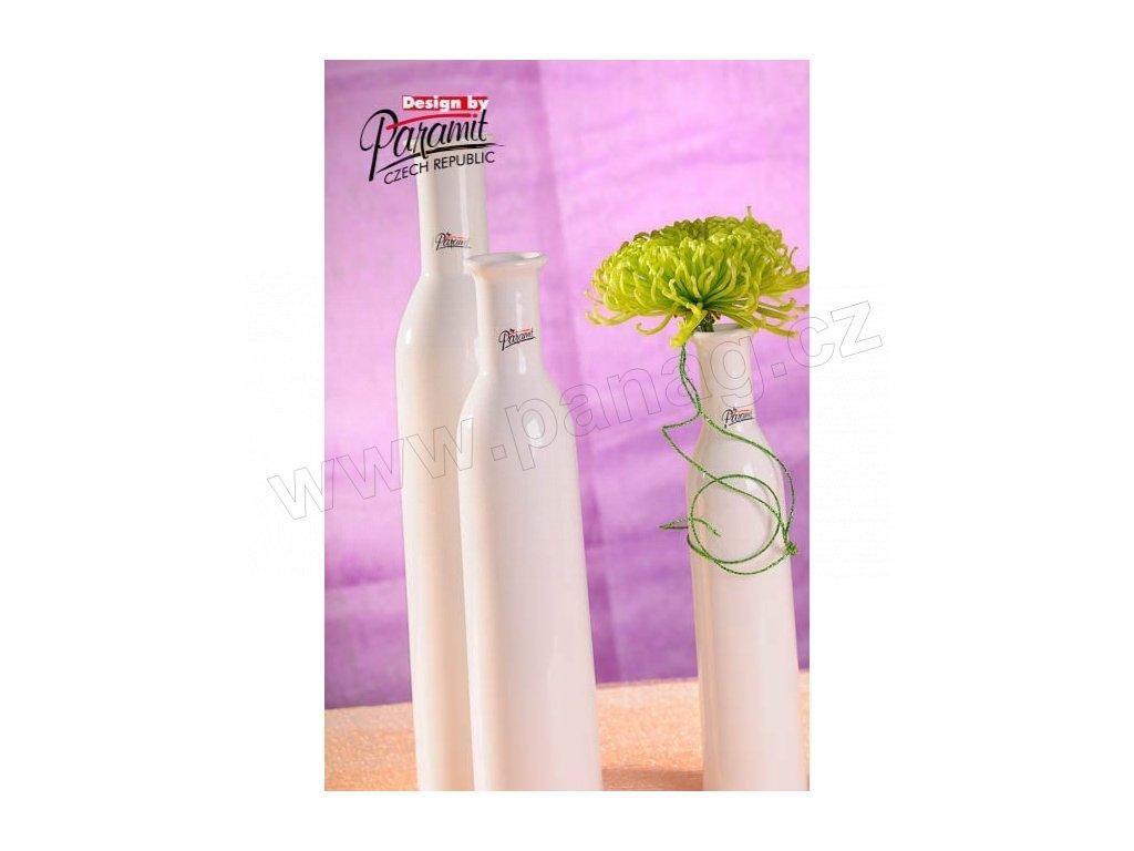 Karin váza bílá 30 cm  - Paramit - 12037-30W
